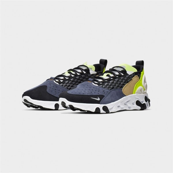 react sertu-REACT SERTU - BLACK/WHITE-nike-Nine