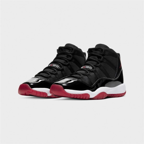 jr air jordan 11 retro-JR AIR JORDAN 11 RETRO - BLACK/W-nike-Nine
