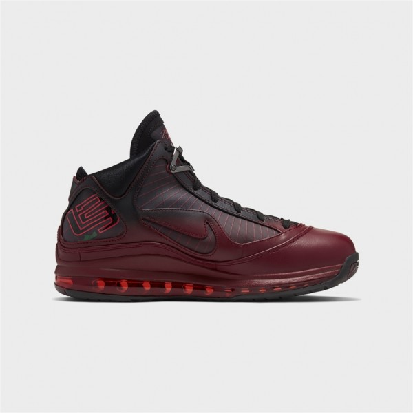 lebron vii qs-LEBRON VII QS - TEAM RED/METALLI-nike-Nine