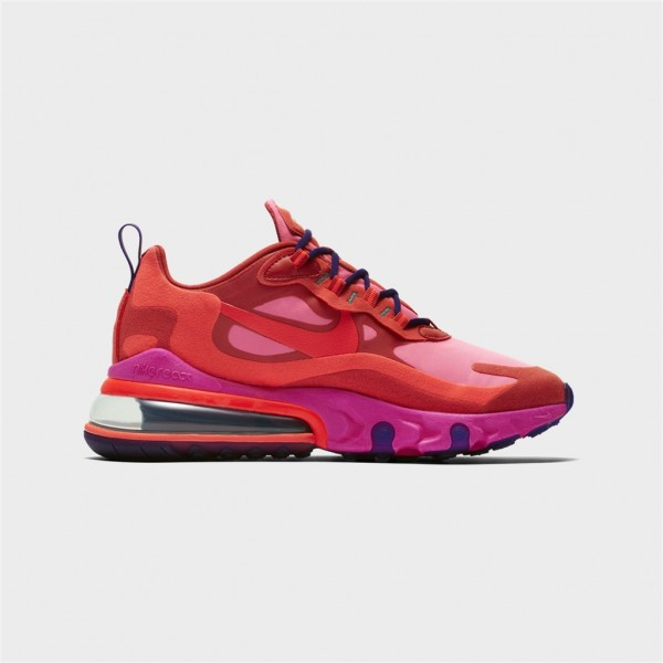 w air max 270 react-W AIR MAX 270 REACT - MYSTIC RED-nike-Nine