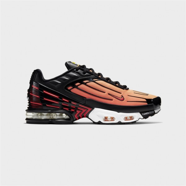 air max plus iii-AIR MAX PLUS III - BLACK/PIMENTO-nike-Nine