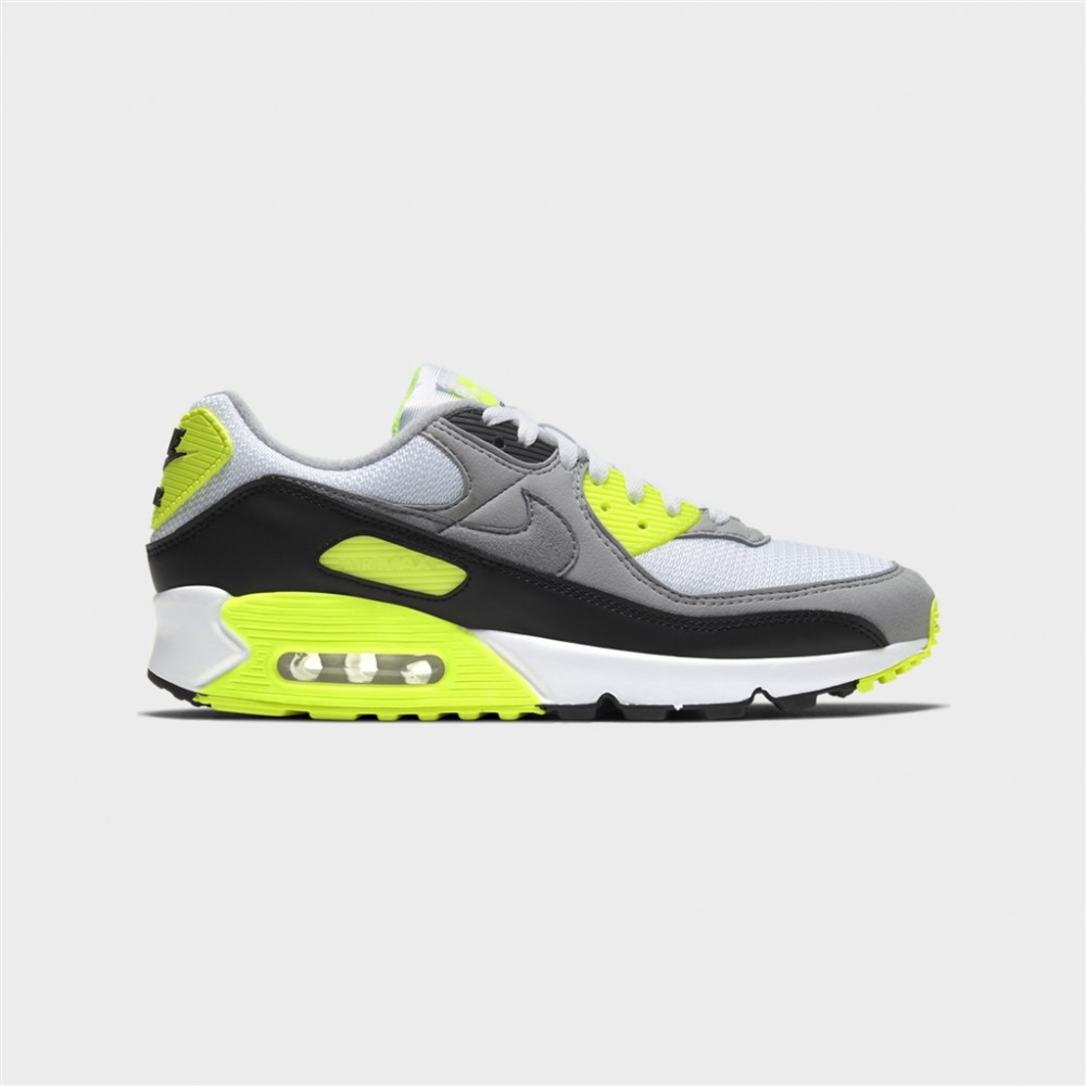 air max 90-AIR MAX 90 - WHITE/PARTICLE GREY-nike-Nine