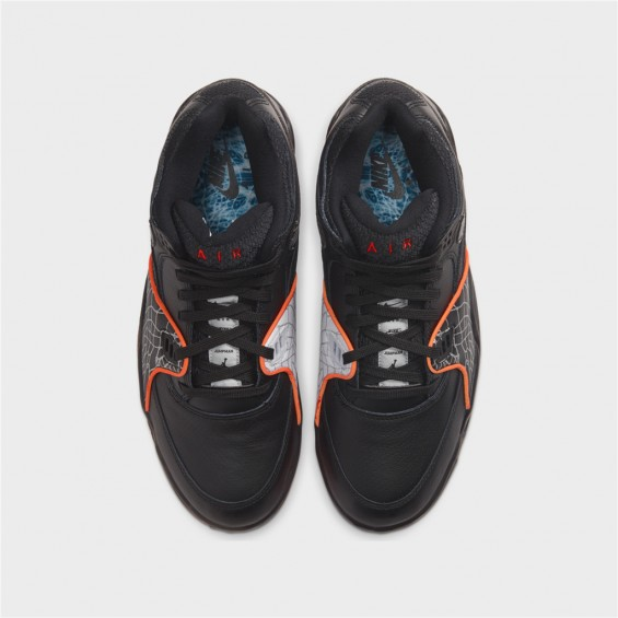 air flight 89 qs-AIR FLIGHT 89 QS - BLACK/ORANGE -nike-Nine