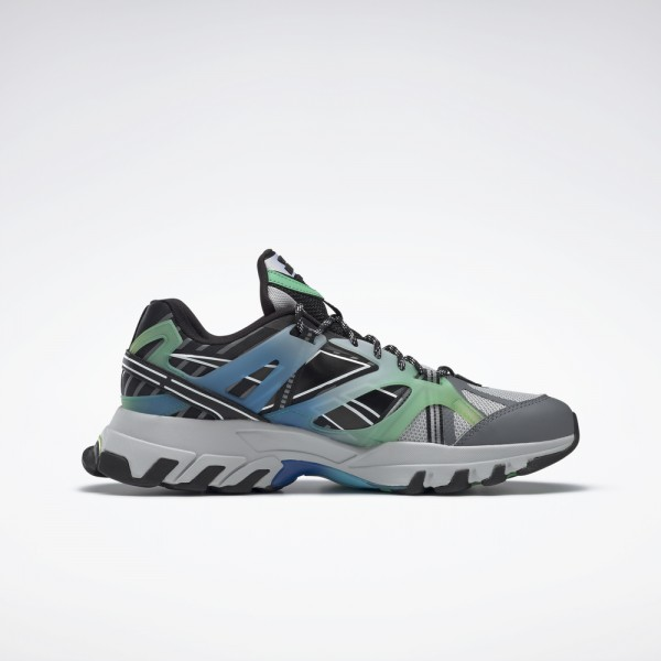 dmx trail shadow-DMX TRAIL SHADOW - STEEL/NOIR-reebok-Nine