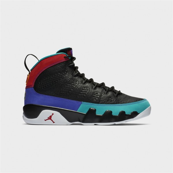 air jordan 9-AIR JORDAN 9 - BLACK:UNIVERSITRY-jordan-Nine