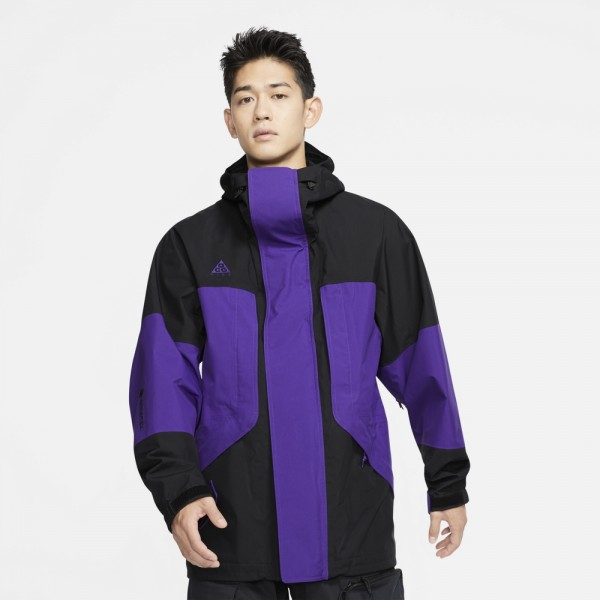 acg jkt hd goretex-ACG JKT HD GORETEX - BLACK/COURT-nike-Nine