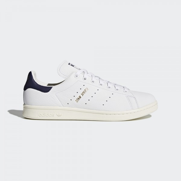 stan smith-STAN SMITH - BLANC/NAVY FONCE-adidas-Nine